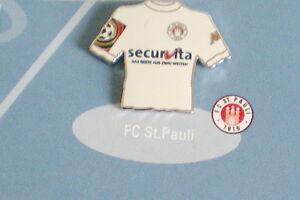 FC ST.PAULI-DER KULT CLUB-FC ST.PAULI TRIKOT PIN MIT SECURVITA WERBUNG-FU 135