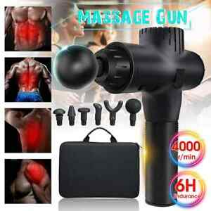 Massage-Gun-Percussion-Massager-Muscle-Vibrating-Relaxing-Like-Hypervolt-6-Heads