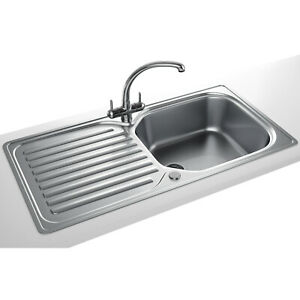 Franke Elba 101 0182 626 Kitchen Stainless Steel Inc Waste Kit Ebay