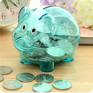Top-selling-Clear-Piggy-Bank-Coin-Money-Plastic-Cash-Safe-Box-Kids-Pig-Toy-SG