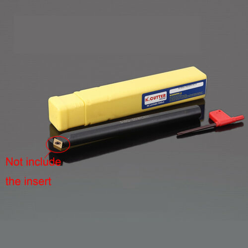 S10K SDWCR07  12x150mm 62.5 Degre screw type inner hole boring bar turning tool