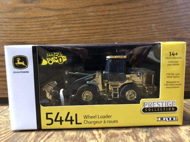 Prestige Collection NEW John Deere 544L Wheel Loader 1//50 Ages 14+  LP70650