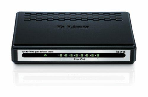 gosw8g Dlink GO-SW-8G 8-port Gigabit Unmanaged Switch