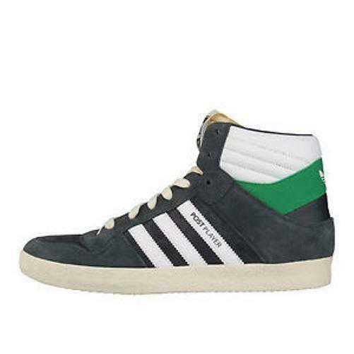 Mens ADIDAS POST PLAYER VULC Vintage Suede Suede Suede Trainers G21269 a6d00b