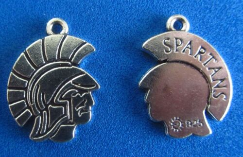 Spartan Charm Ancient Greece Charm Battle Charm  Pendant