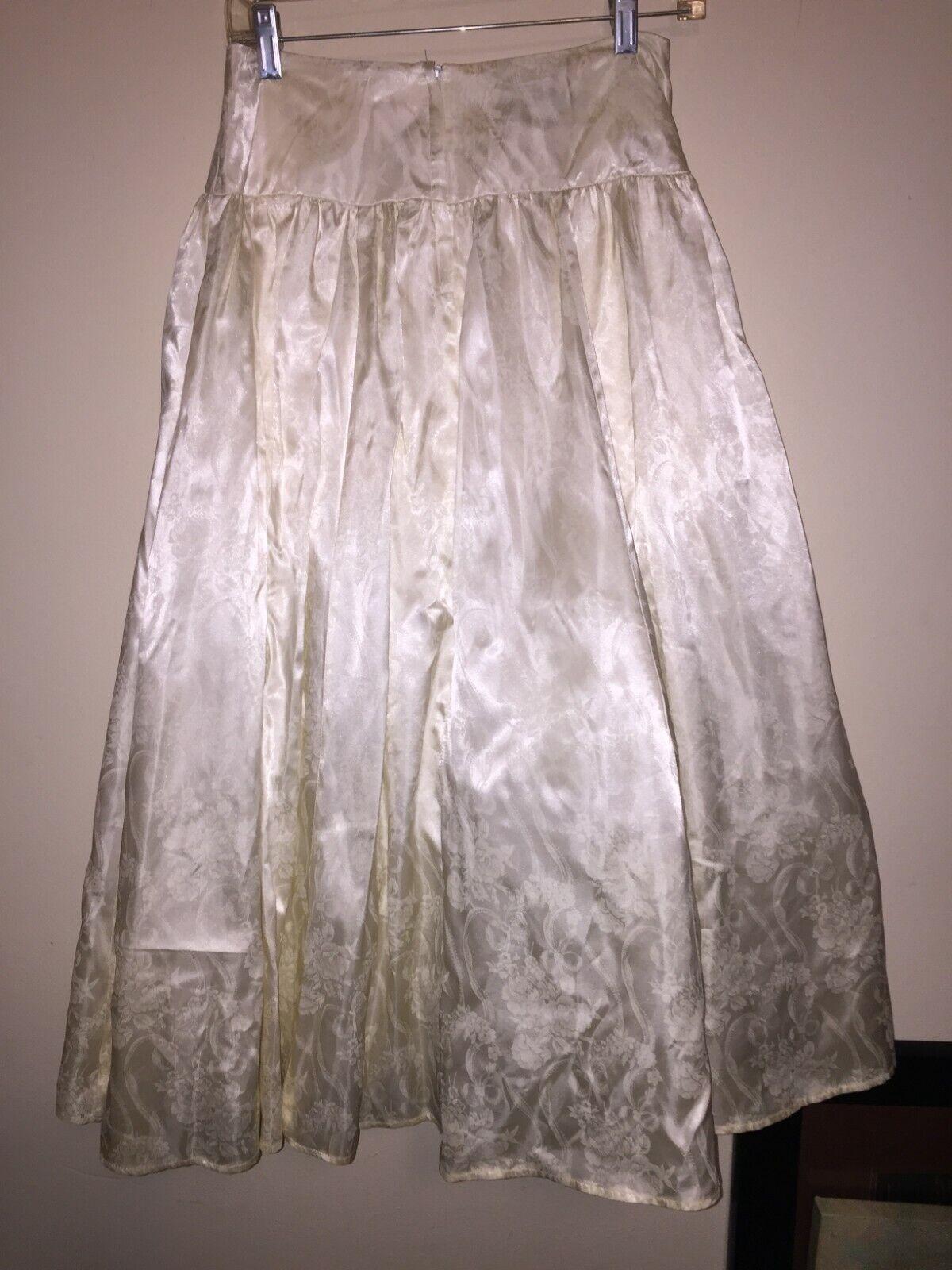 VINTAGE Jessica McClintock Crinoline Skirt 80s - image 4