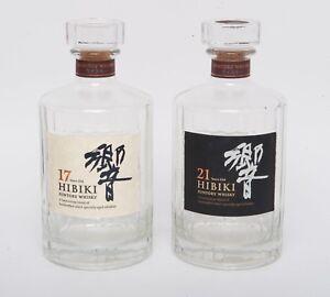 Rare Whiskey Suntory HIBIKI 17 Years Old 700ml Empty Bottle