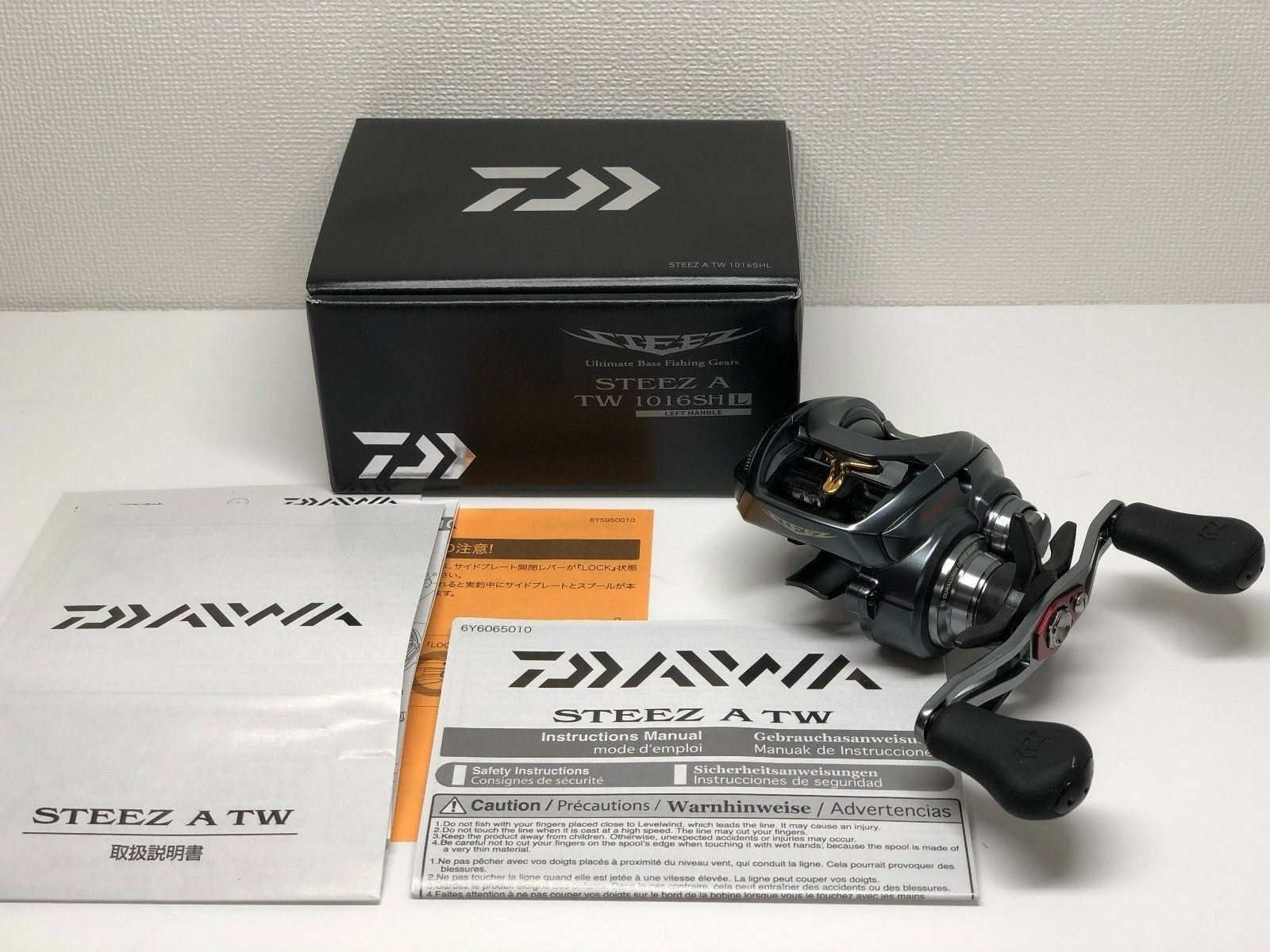 DAIWA 17 STEEZ A TW 1016SHL   - Free Shipping from Japan