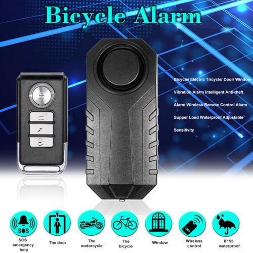 Bicycle// Door// Window Vibration Alarm Intelligent Anti-theft Remote Control C6Z0