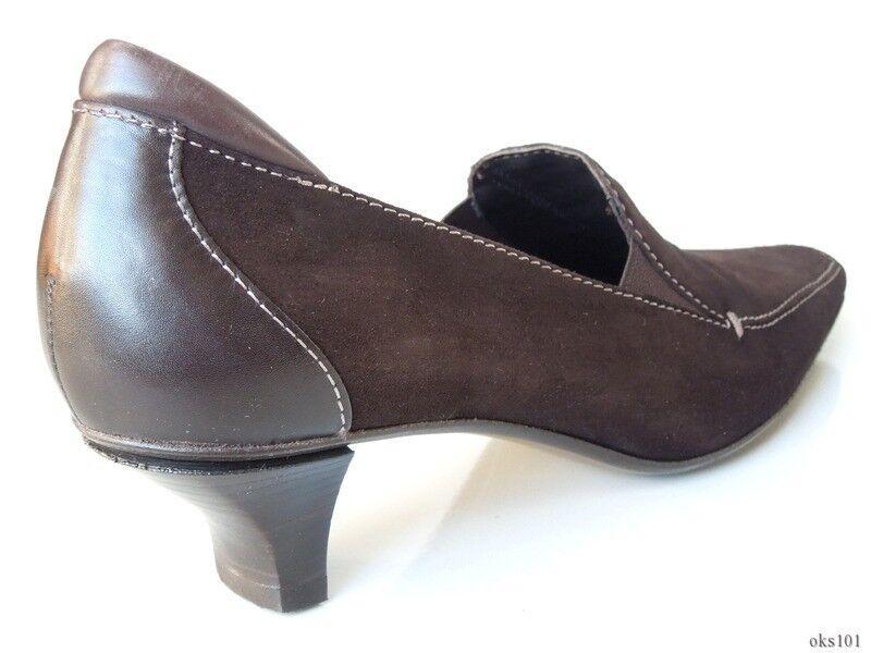 New Braun DONALD J PLINER 'Merik' Braun New suede classic Schuhes  8 - very comfortable 559330