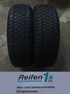 215-60R17C-104-102H-Dunlop-SP-LT60-6-2-Stueck-VW-T5-Winterreifen-M-S-Neuwertig