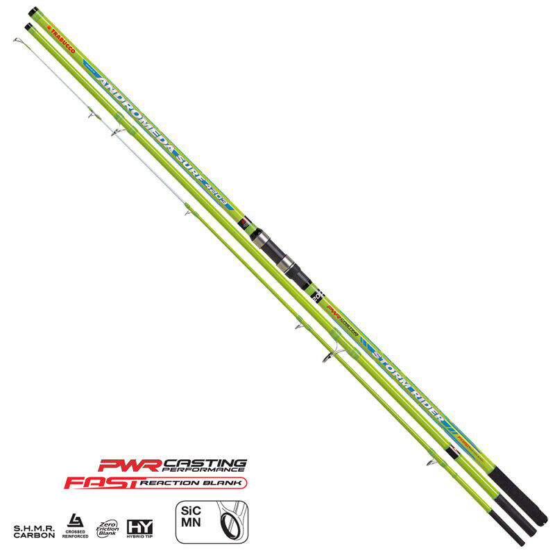17212200 Trabucco canna Andromeda storm rider surf 3 sezioni 420 200gr PPG