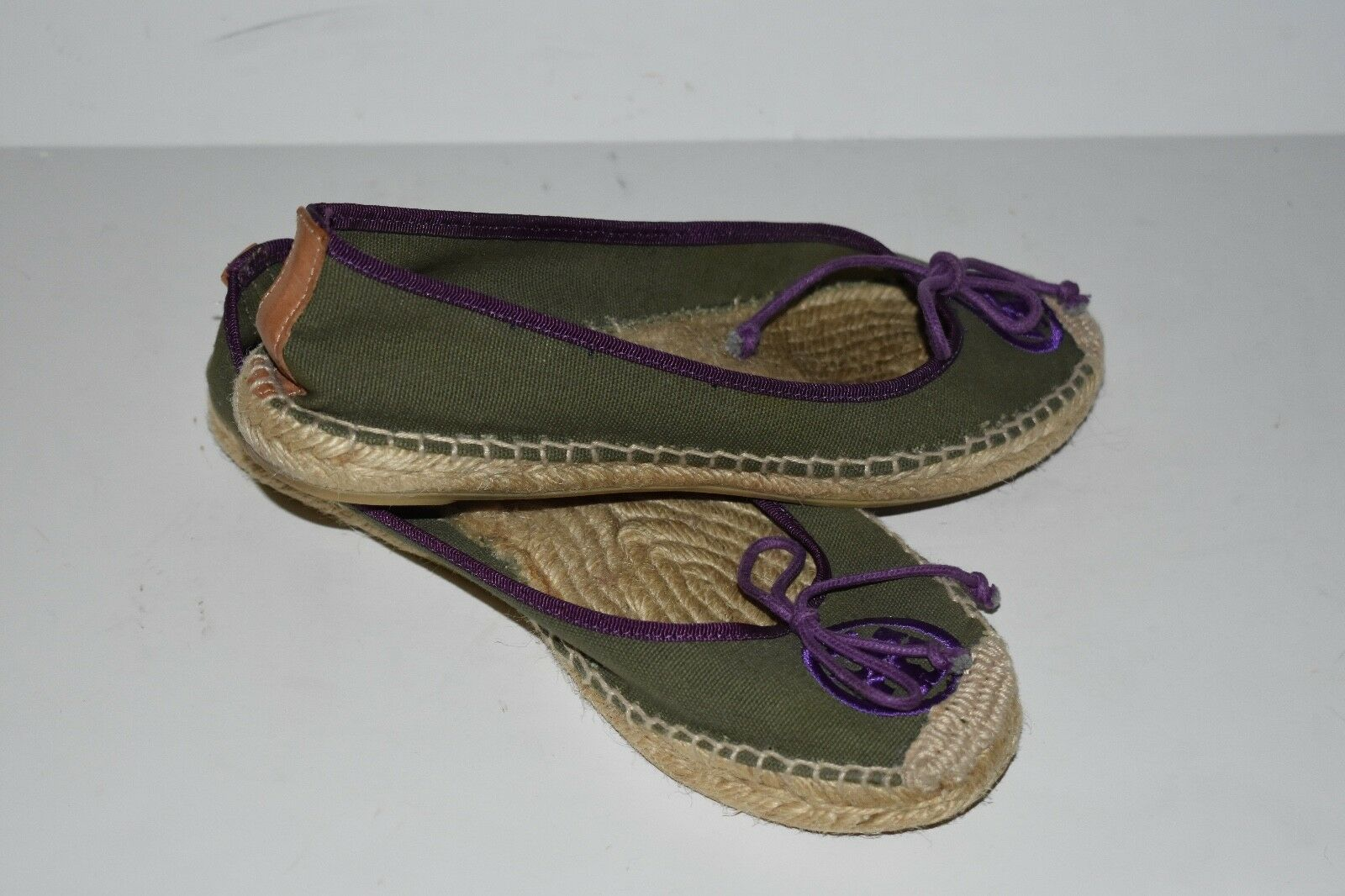 Tory Burch Espadrille Espadrille Espadrille Slip On shoes Flats Size 6 00b595