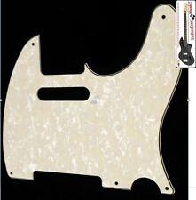 NEW PICKGUARD TELECASTER AGED PEARL white pour Fender ou autre télé