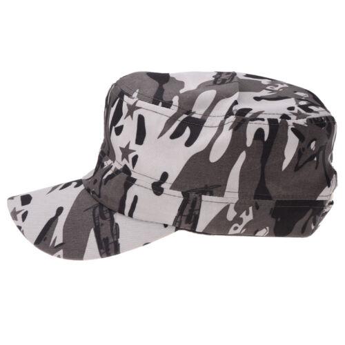 Men Women Camouflage Military Baseball Cap Army Hip Hop Trucker Snapback Hat