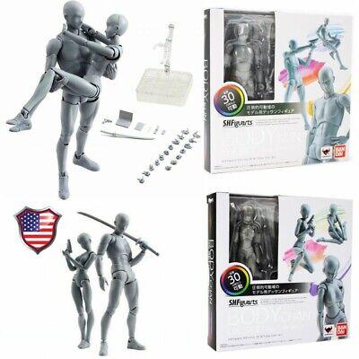 New S.H.Figuarts BODY KUN DX Set 150mm ABS/&PVC figure Gray Color Ver.
