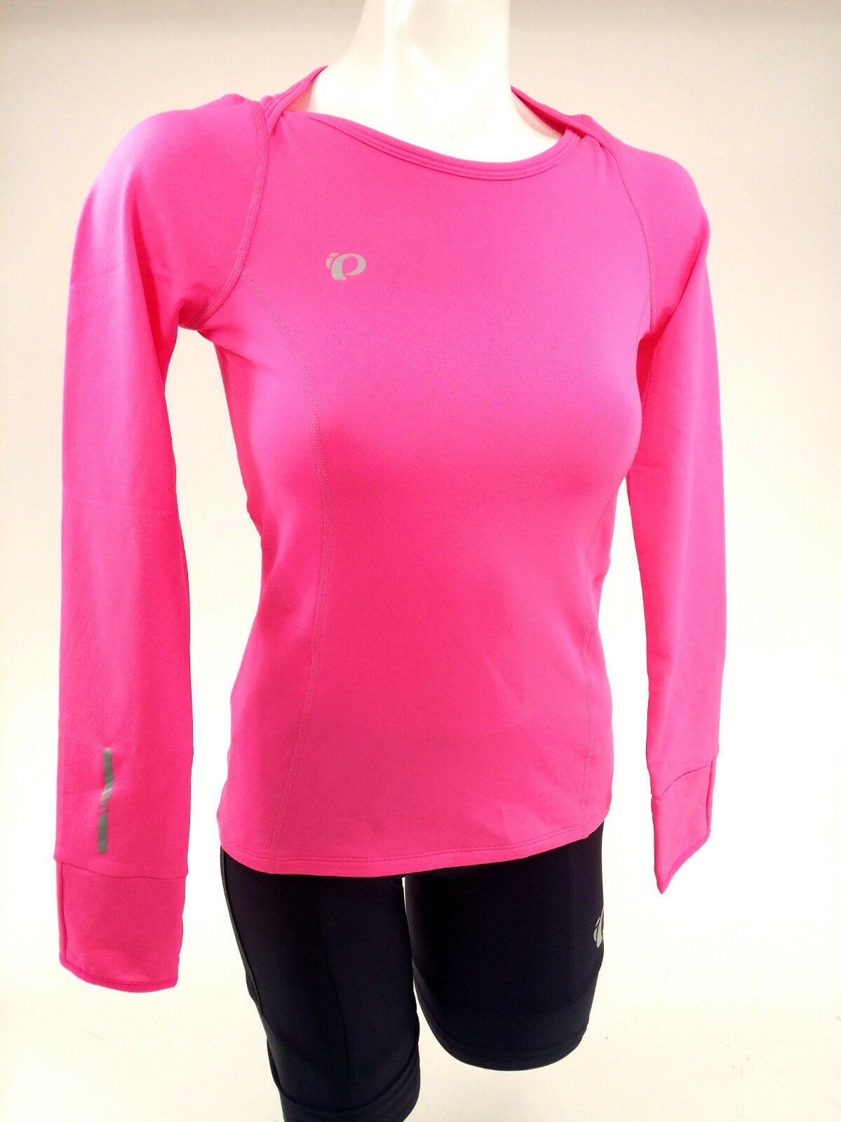 PEARL iZUMi Women's, Pursuit Thermal Top, Screaming Pink, Small