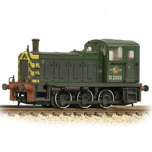 Graham-Farish-371-063-N-Gauge-BR-Green-Class-03-No-D2383