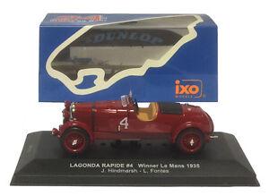 Ixo Lm1935 Gagnant Rapid Lagonda # 4 Le Mans 1935 - Hindmarsh / Fonts 1/43 Echelle 4895102306305