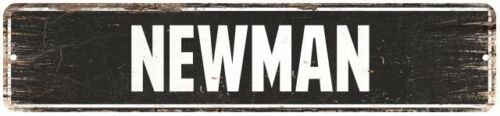 NEWMAN Personalized Street Sign Home Decor Chic Gift 4x18 104180003396