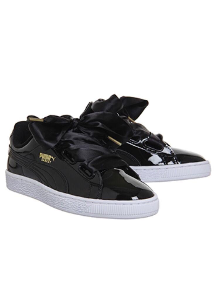 Puma Basket cœur Patent Chaussures Pointure Was  79.99 maintenant seulement  55-