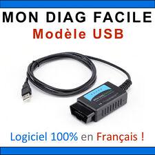 MON DIAG FACILE - ELM327 - Version USB - Fabrication Française - Valise Diag