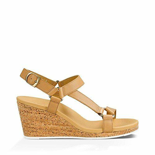 b7412638232 Women s Teva Arrabelle Universal Leather Wedge Sandal 5.5 M Tan for sale  online