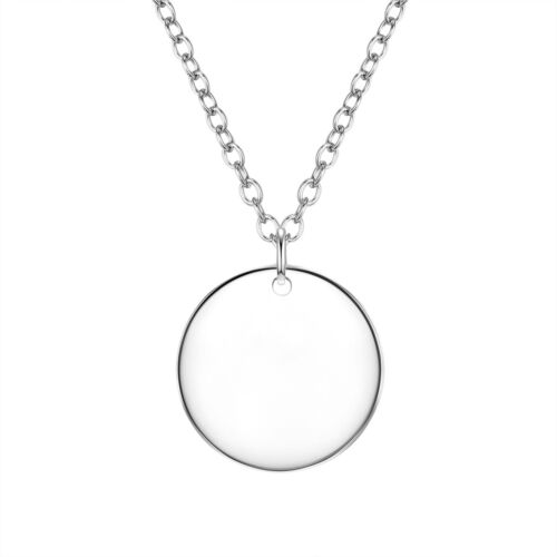 Brillo trozos munich señora collar Sterling plata 40,0 cm 5,0 cm