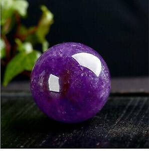 Natural Purple Amethyst Quartz Sphere Big Pretty Crystal Ball Healing Stone 20MM