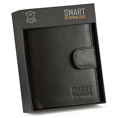 RFID Blocco anti-magnetico pelle e metallo porta carte di credito wallet