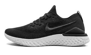 Nike-W-Epic-React-Flyknit-2-Black-Size-10-US-Womens-Athletic-Running-Shoes