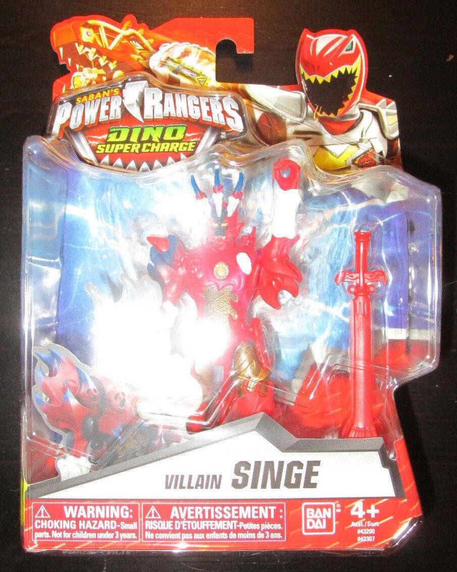 Power Rangers Dinosaure Super  Charge méchant monkey figure 43307  Découvrez le moins cher