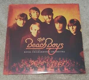 Beach-Boys-ORANGE-Vinyl-Royal-Philharmonic-Orchestra-2LP-New-amp-Sealed