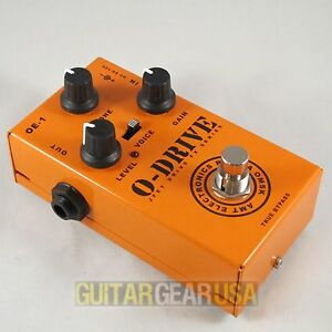 AMT-Electronics-O-Drive-JFET-FX-Guitar-Pedal-OE-1-emulates-Orange-amps