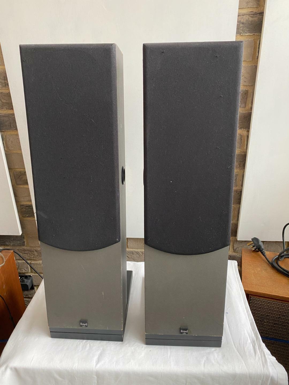 Royd Minstrel Floor Standing Loudspeakers inc grills [WEST LONDON] #1