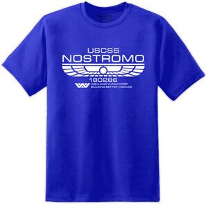 Alien-Classic-Nostromo-Crew-Member-T-Shirt-Sulaco-M41A-PULSE-RIFLE-Movie-Film