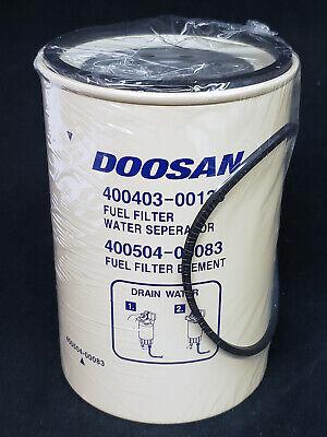 New Genuine Doosan Equipment Fuel Filter Element, 400504-00083, Forklift    eBayeBay