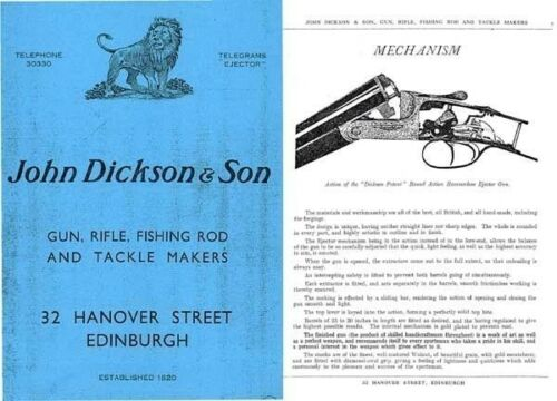Edinburgh Dickson John and Son Sporting Goods 1939