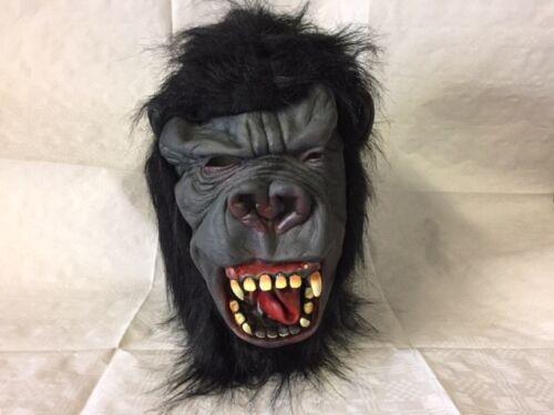 Gorilla Horror Halloween Maschera adulto in Lattice Costume