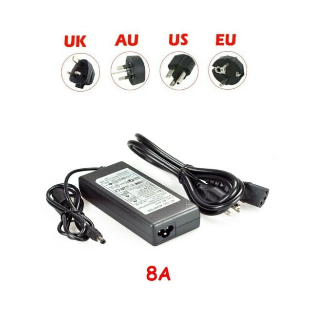 12V 2A 3A 5A 8A 10A 12.5A Power Supply Adapter Transformer 5050/5630 LED STRIP