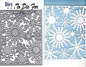 Dies-to-die-for-metal-cutting-craft-die-Snowflake-background-plate