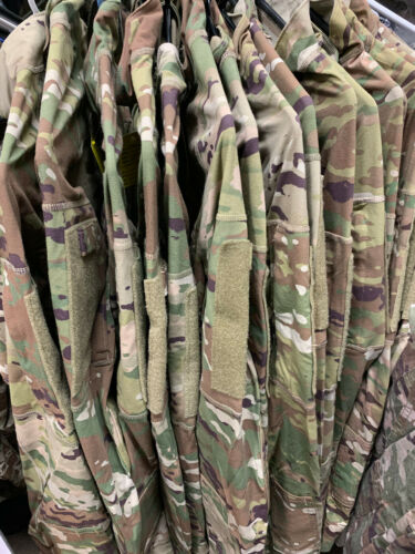 USGI MULTICAM ARMY ZIP NECK COMBAT SHIRT TYPE II FR MEDIUM  NWOT MINT