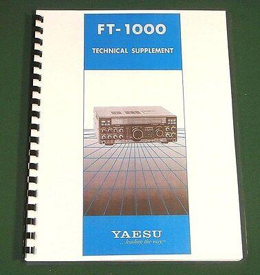 "Yaesu FT-7900R Service Manual With full Set of 11/""X17/"" Foldouts!"