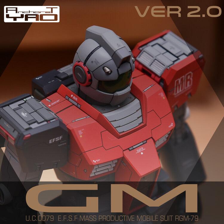 ANCHORET Gundam 1  100 MG RGM -79 GM Ver.2.0 hkonsts Congrönion Original Kit
