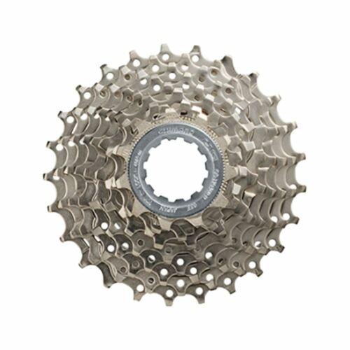 Shimano Alivio M4000 CS-HG400 9 Speed 11-25T HG Road Bike Cassette Silver
