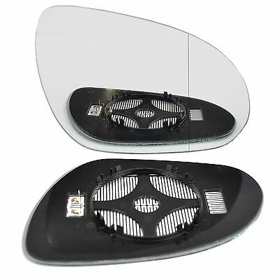 Right Driver side Wing door mirror glass for Hyundai i30 2007-2012 heated
