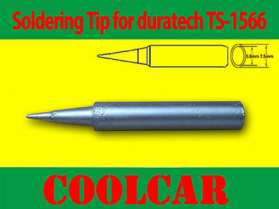 12pcs SOLDER SOLDERING IRON STATION Tip for DURATECH TS-1565 TS-1566 RHINO 48W