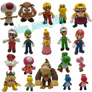 New Super Mario Bros Wii Characters Collectible Plastic Action