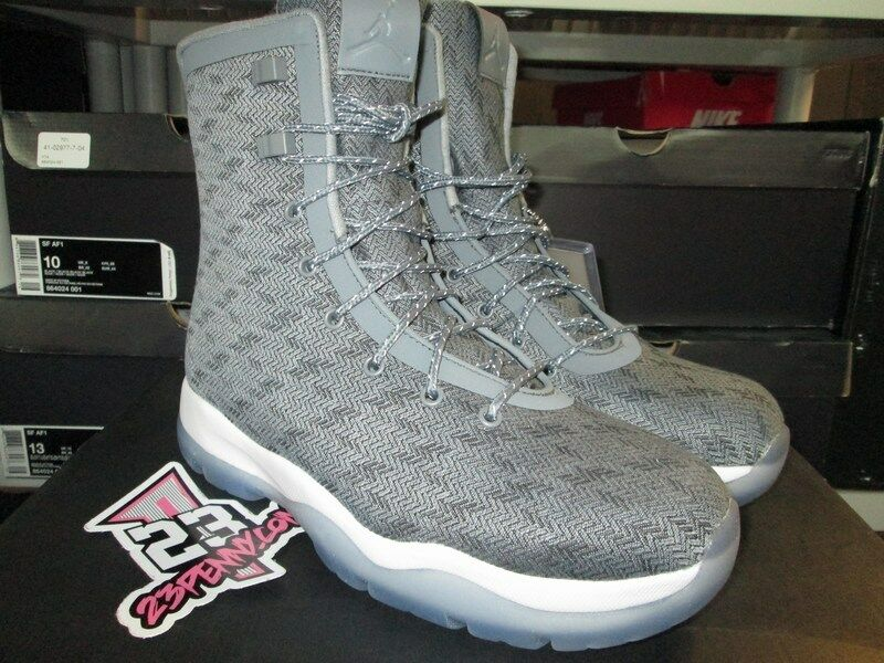 SALE 2016 AIR JORDAN RETRO FUTURE BOOT GREY LIGHT blueE 854554 003 MSRP 225
