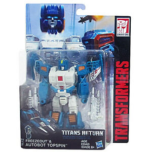 Transformers Generations Titans Return W4 Deluxe # Freezeout /& Topspin NEW